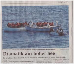 Tragödie im Mittelmeer